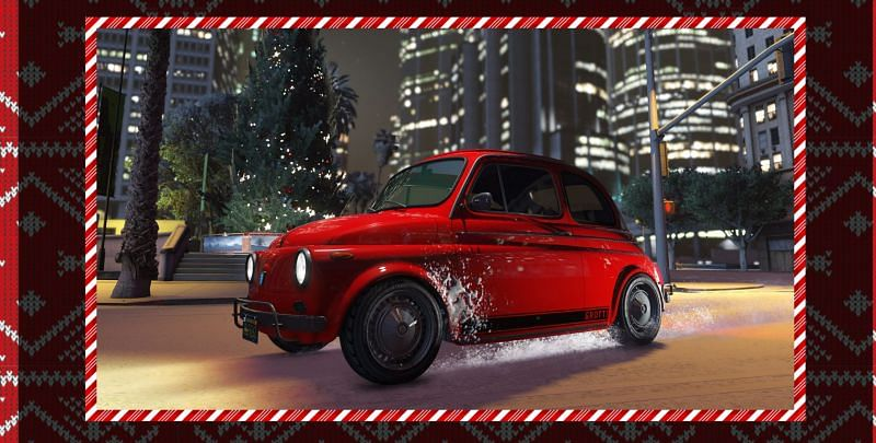 The Grotti Brioso 300 will be available for free for this week in GTA Online (Image via Rockstar Newswire)