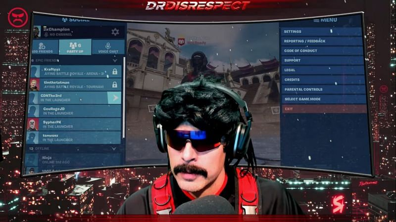 Image via Dr DisRespect YouTube