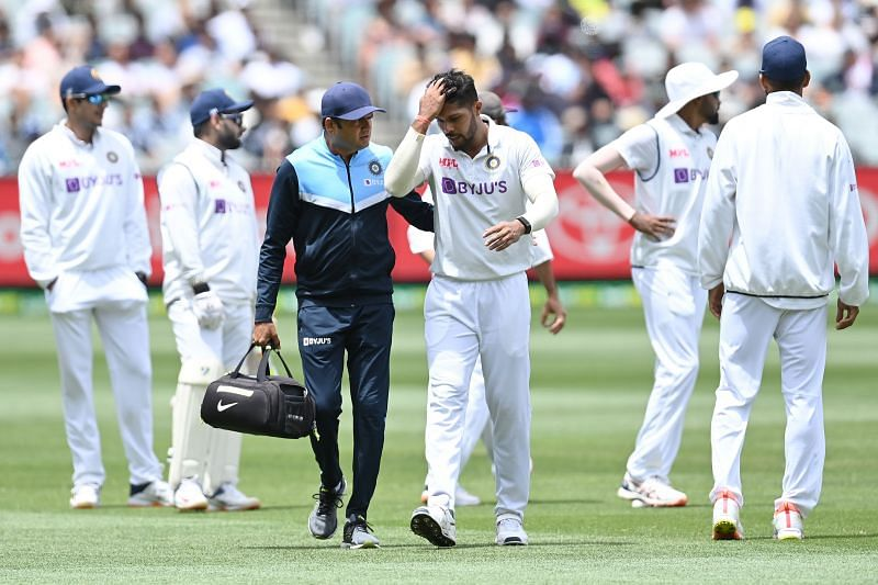 India will be hoping that the injury is not too serious