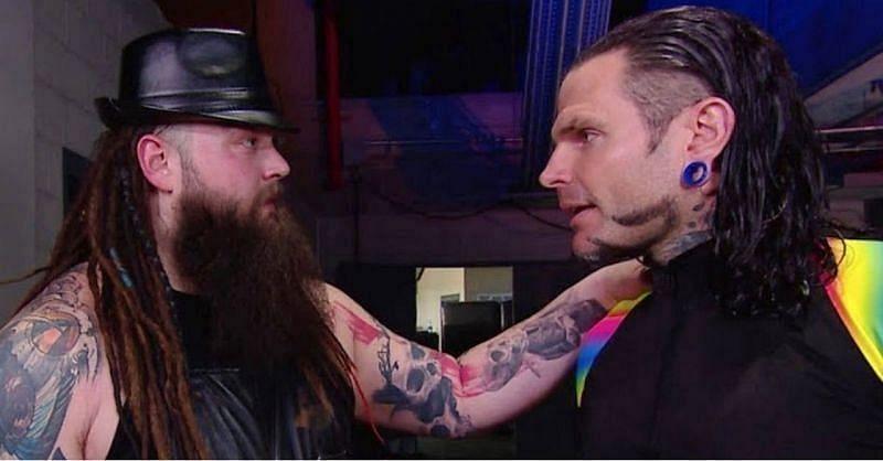 Bray Wyatt and Jeff Hardy.