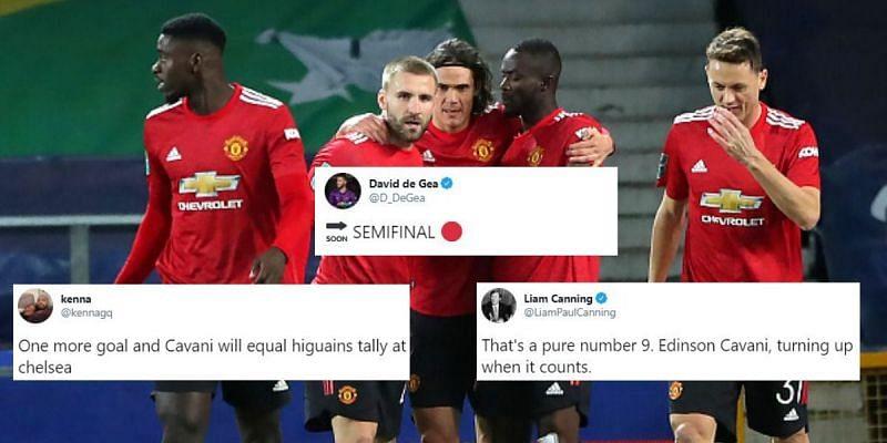 Everton 0-2 Manchester United - Carabao Cup quarter-finals