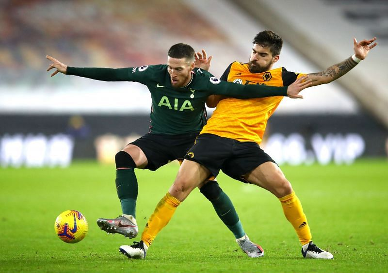 Honours were even at Molineux tonight as Wolves drew 1-1 with Tottenham