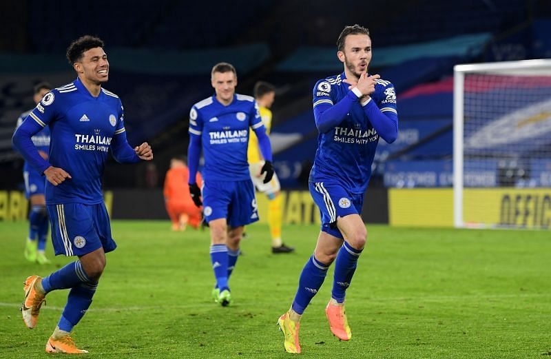 Leicester City are once again flying in the Premier League