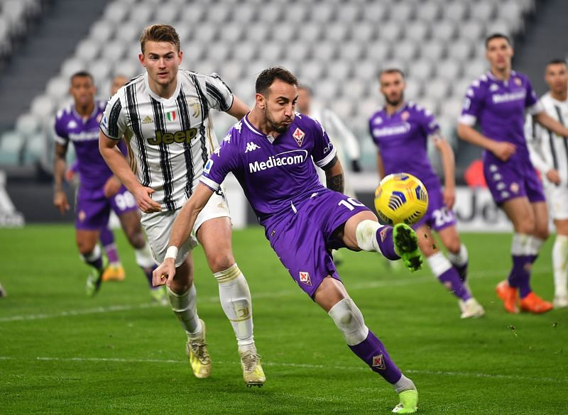 Juventus lost to Fiorentina in their last game of the year