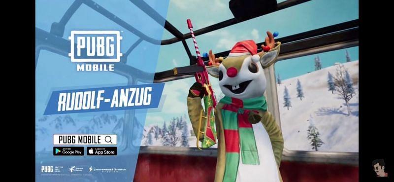 Rudolf Anzug costume set (Image via HadduGamingYT/ YouTube)