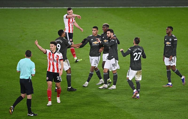 Manchester United saw off a spirited Sheffield United side on Thursday