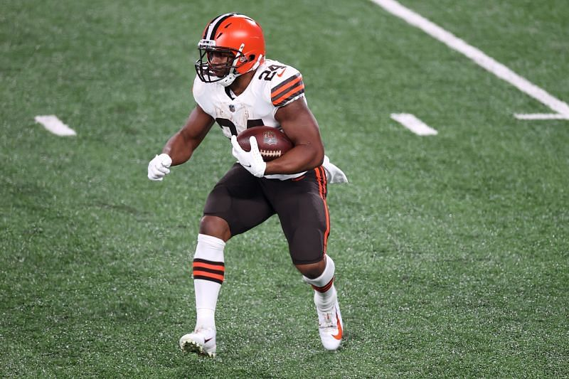 Cleveland Browns RB Nick Chubb Should Have a Big Day Against a New York Jets Defense Without DT Quinnen Williams