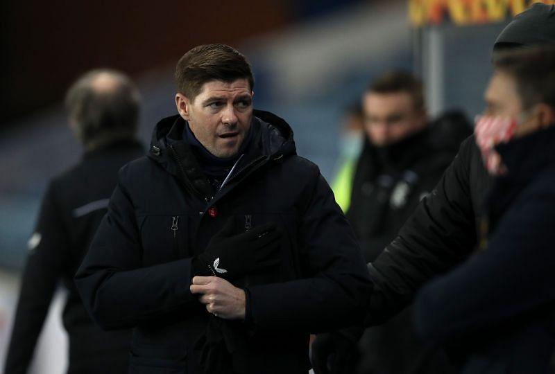Rangers coach Steven Gerrard