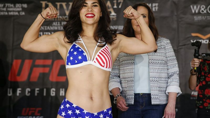 Rachael Ostovich was released from the UFC after three straight losses