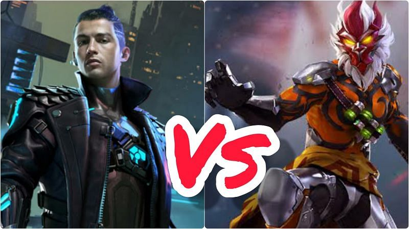 Comparing Chrono and Wukong, two popular characters in Garena Free Fire