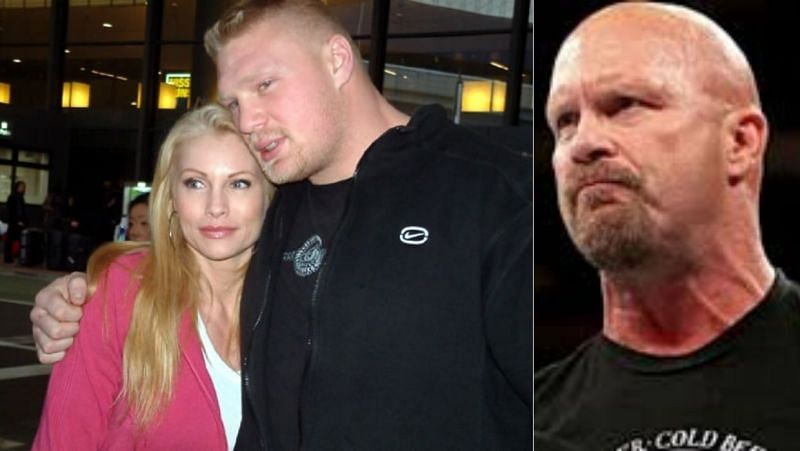 Lesnar and Sable/Stone Cold