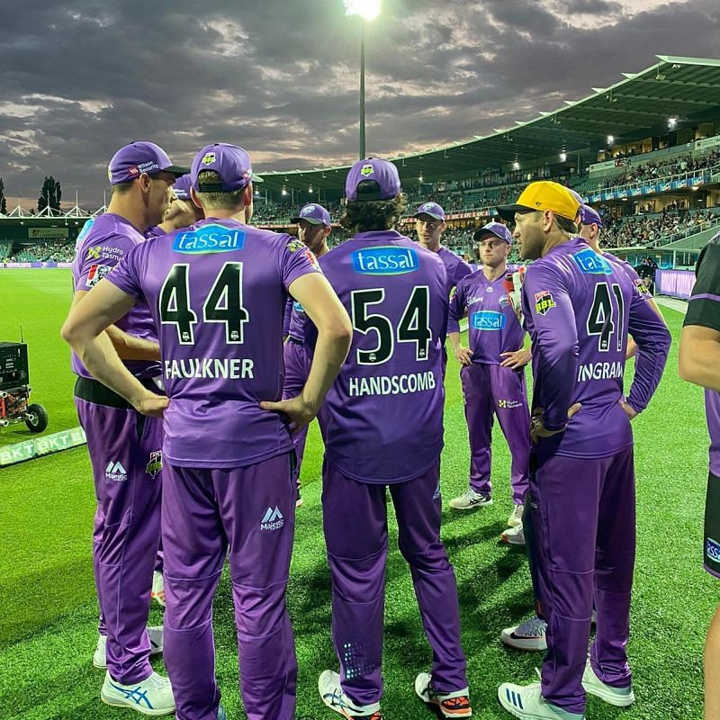 The Hobart Hurricanes will be looking to get back to winning ways.