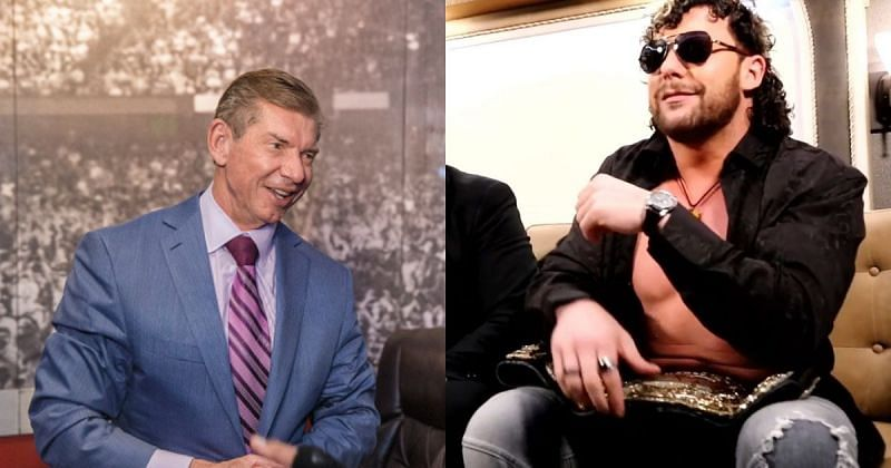 Vince McMahon and Kenny Omega.