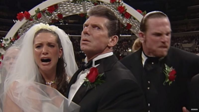Stephanie McMahon, Vince McMahon and Test