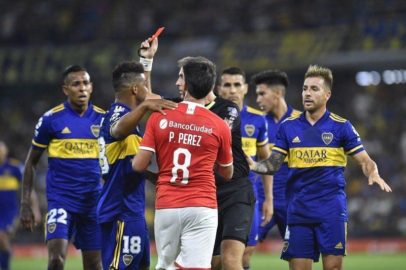Independiente welcome reigning champions Boca Juniors to the Estadio Libertadores de América