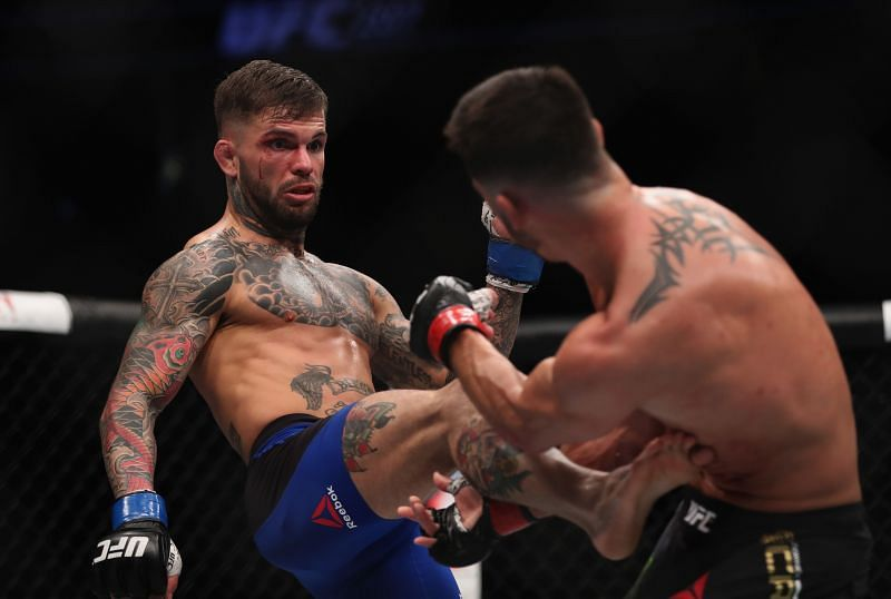 Cody Garbrandt is targeting a return to the UFC in March of 2021