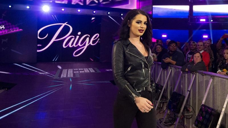 Paige has previously been a manager in WWE