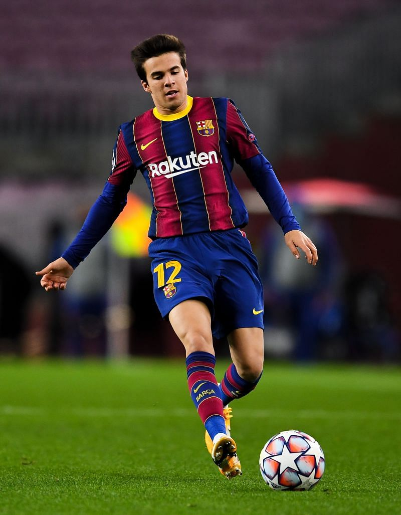Riqui Puig has not started a single game for Barcelona in the 2020-21 season