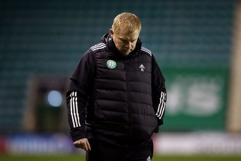 Neil Lennon has found himself under pressure as Celtic have struggled domestically and in Europe