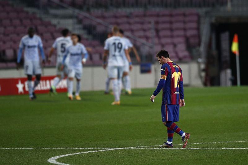 Barcelona skipper Leo Messi