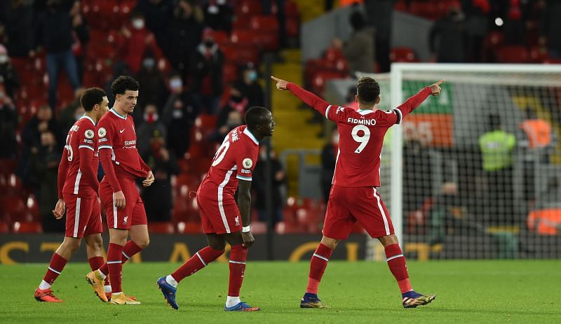 Liverpool defeated Spurs 2-1 at Anfield on Wednesday