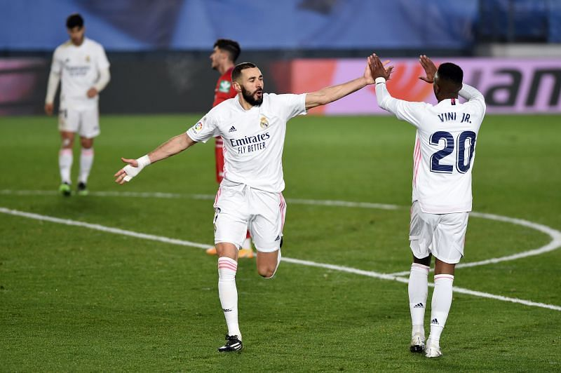 Real Madrid and Benzema have been on fire