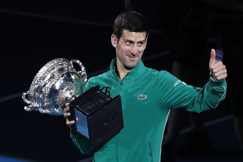 Novak Djokovic is the defending champion at both the ATP Cup and the Australian Open