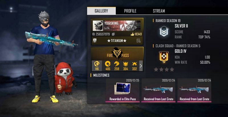 His Free Fire ID