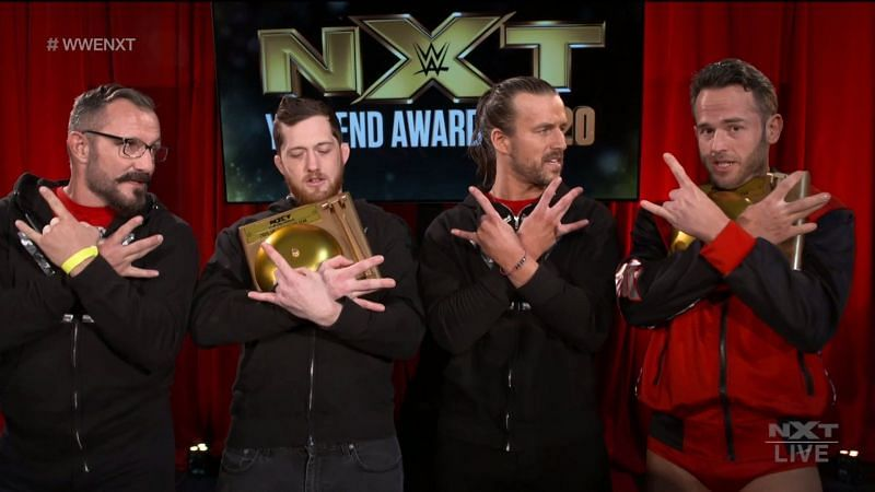 The Undisputed Era bagged a lot of trophies in this year