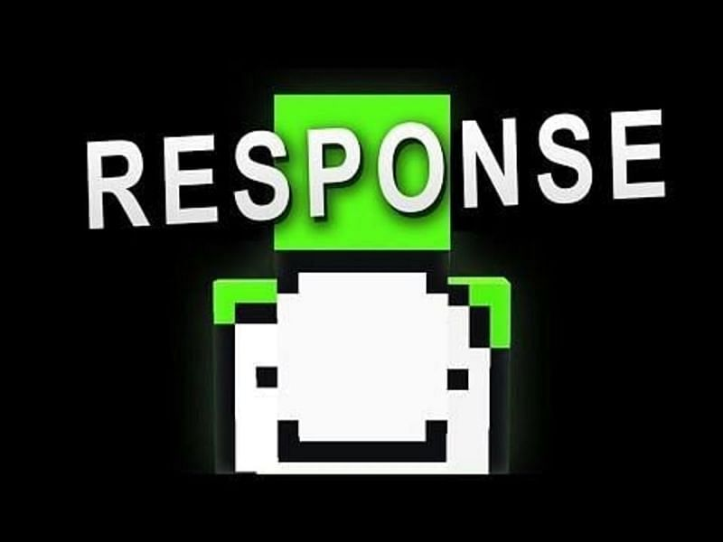 Dream responds to the Minecraft cheating allegations against him. (Image via DreamXD/YouTube)