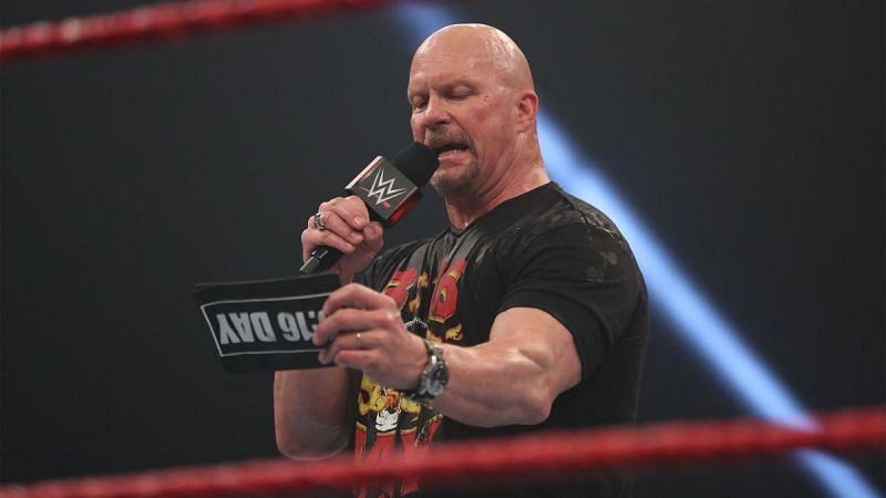 Steve Austin hosted an Austin 3:16 celebration on RAW