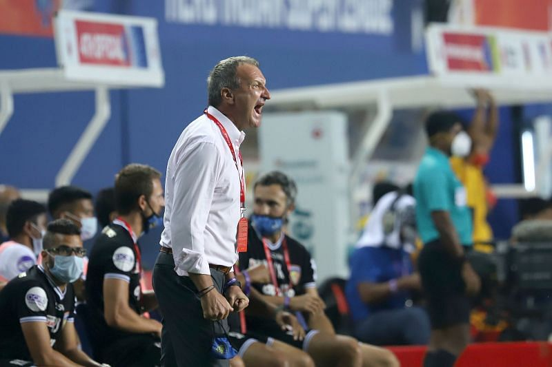 Chennaiyin FC coach Csaba Laszlo seemed pleased with his side