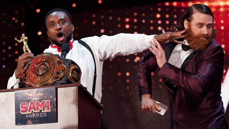 Big E is coming for that title