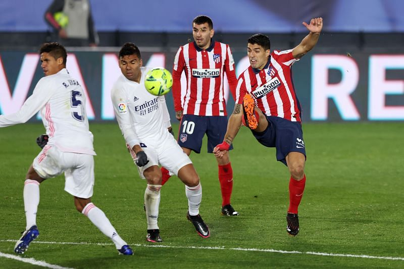 Atletico Madrid dropped points in the Madrid derby in the previous La Liga outing