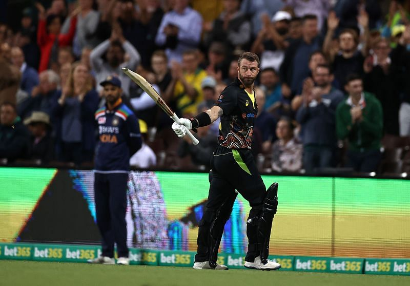 Matthew Wade shone for Australia in the T20I series against the Indian cricket team.