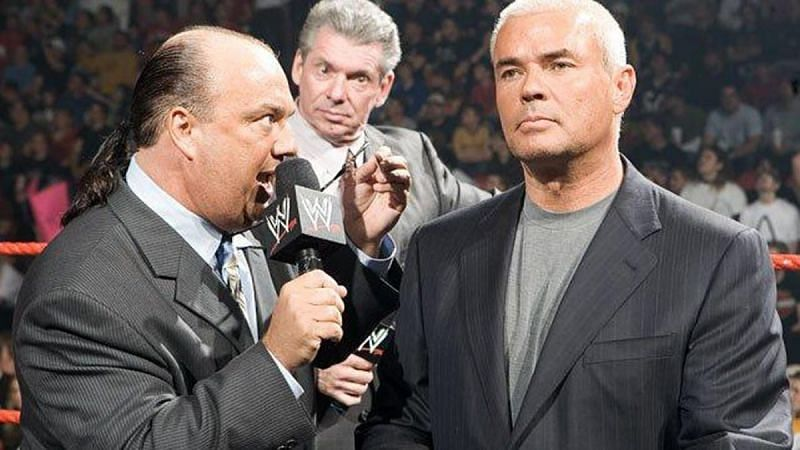 Eric Bischoff believes his most recent role with WWE failed due to a lack of chemistry