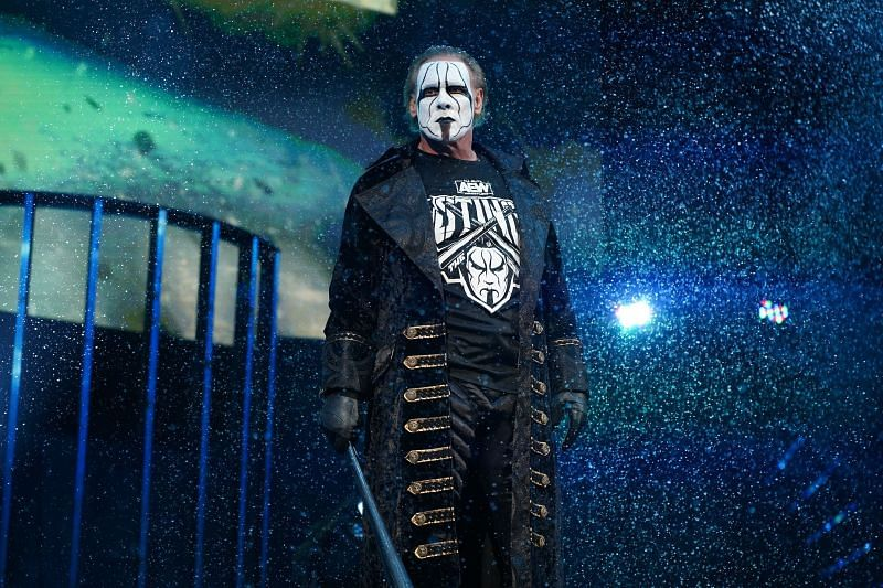 """The Icon"" Sting was the latest guest on the AEW Unrestricted podcast."