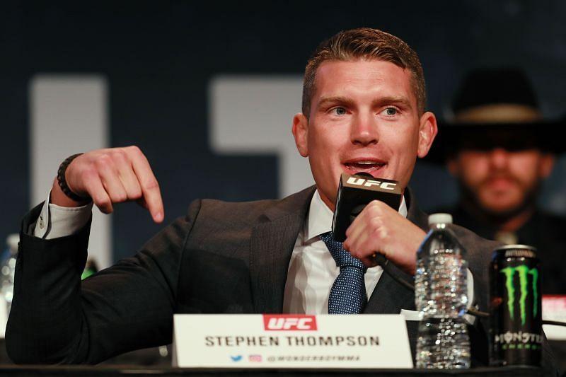 UFC welterweight Stephen