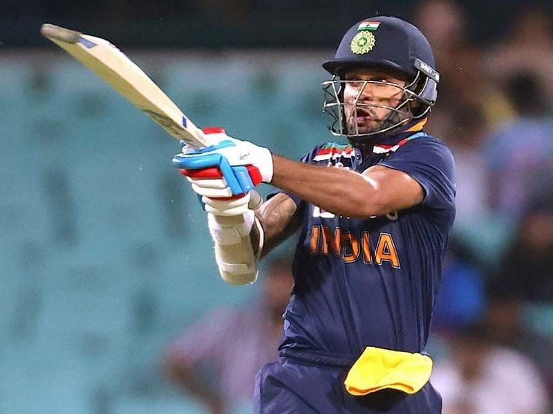Shikhar Dhawan was dismissed with just a run to his name.