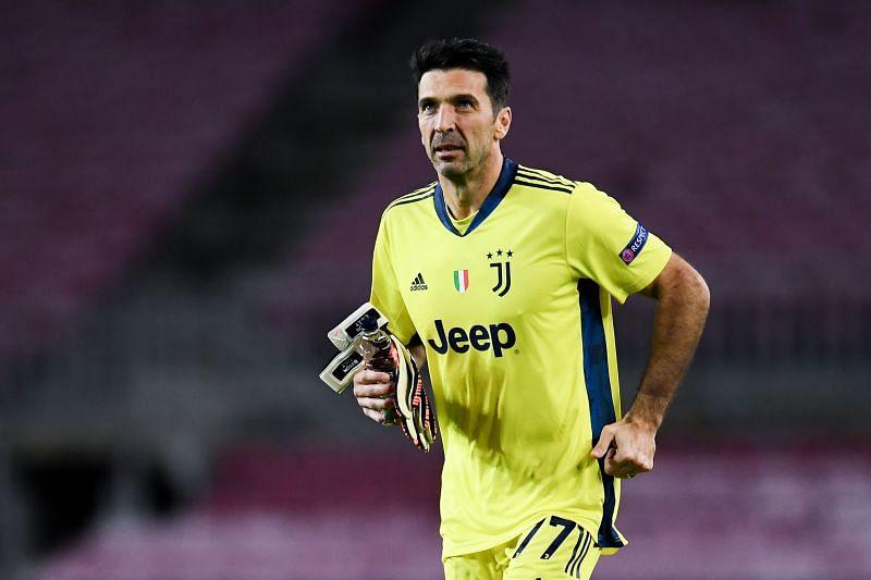 Gianluigi Buffon helped Juventus keep their third clean sheet in the 2020-21 Serie A.