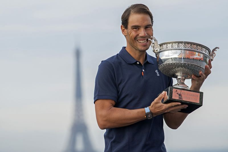 French Open 2020 Winner Rafael Nadal