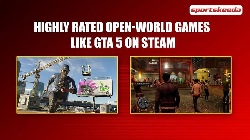 Highly rated open-world games like GTA 5