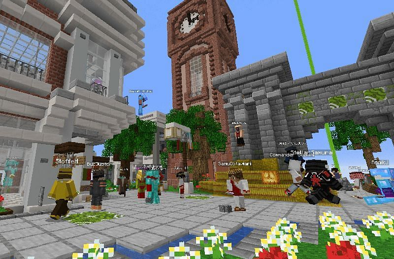 Earth MC is a server based on the real life earth in Minecraft