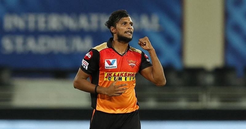 Natarajan turned heads with his performances in IPL 2020