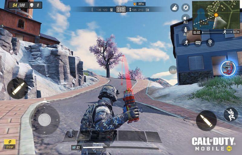 Battle Royale Mode. Image via Activision Games Blog
