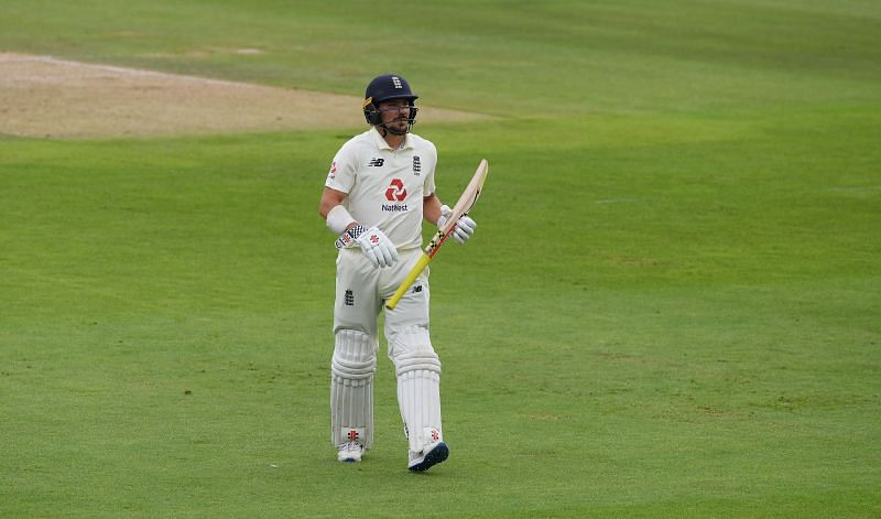 Rory Burns had a horrendous Pakistan series in August this year