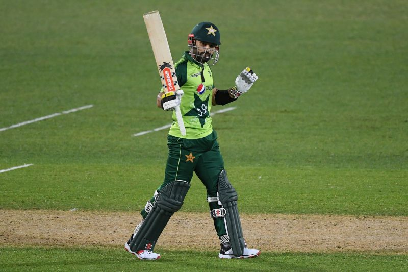 Mohammad Rizwan starred for Pakistan in the third T20I