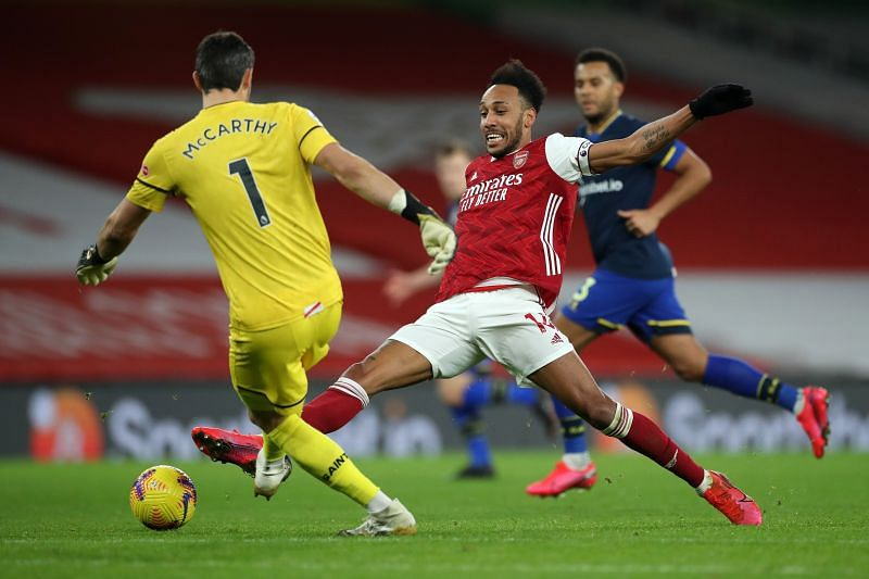 Arsenal and Southampton played out to a draw