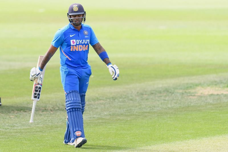 Suryakumar Yadav played for India A in 2020