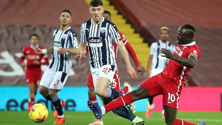 Liverpool were held to a draw by gritty West Bromwich Albion.